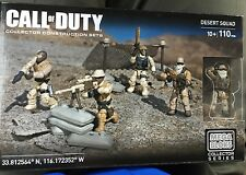 Mega Bloks Call of Duty Desert Squad CNG78 Collector Construction Set