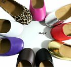 New Women PAL-A Casual Comfort Slip On Round Toe Ballet Flat Shoes Cute Work