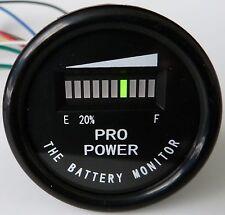 PRO12-48M ™ Golf Cart Battery Indicator EZGO Yamaha ClubCar 12, 24, 36, 48 VDC