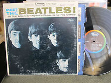 Meet the Beatles LP 1st debut stereo st2047 WEST COAST #6 RARE BMI 1 version!