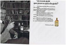 PUBLICITE ADVERTISING 054 1978 COINTREAU liqueur alcool (2 pages)