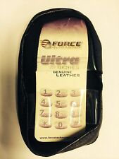 Sony Ericsson T20e,T20s Leather Case with Steel Belt Clip. Brand New & Original.