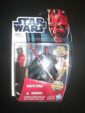 Star Wars~ Darth Maul Action Figure~New/battle card,die and base~Sealed~2012 moc