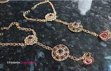Red hand chain slave indian gold antique