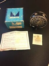 VINTAGE MARTIN FLY FISHING REEL MODEL 63 - Includes Model 61 box & instructions!