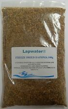 Lapwater Freeze Dried Daphnia Aquarium Tropical Fish Food 100g pack