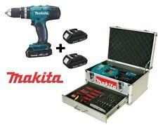Trapano avvitatore percussione 18V Ion tripla batteria 70 acc. Makita BHP453RHEX