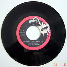 ONE 1980'S 45 R.P.M. RECORD, TRUE CONFESSIONS, SMOKEY'S GONNA TWIST + MATING GAM