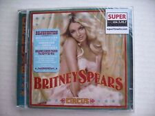 BRITNEY SPEARS -CIRCUS - DELUXE EDITION CD + DVD 2008  BRAND NEW & SEALED