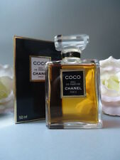 CHANEL COCO EDP 50ml BEYOND RARE FAB SPLASH BOTTLE VINTAGE 1994 MINT SEALED BOX