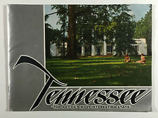VTG Tennessee Travel Brochure Booklet c1940s-50s, Mtn Folk, Map, Cherokee Forest
