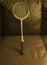 vintage badminton professional model by sportcraft rackit
