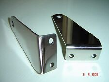 Triumph spitfire, gt6 polished stainless horn brackets