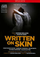 WRITTEN ON SKIN (THE ROYAL OPERA) NEW DVD