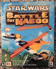 Star Wars Battle for Naboo (PC, 2001) BRAND NEW SEALED BIG BOX - NICE