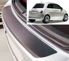 Fiat 500 - Carbon Style rear Bumper Protector