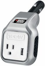 NEW Black & Decker 100W Power Inverter PI100BB