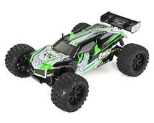 LOS03006T2 Losi TEN-MT 1/10 RTR 4WD Brushless Monster Truck (Black/Green)