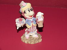 Mickey & Company, Minnie With Basket of Hearts, Enesco, FREE SHIPPING, GT00026