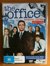 THE OFFICE~ SEASON 3 THREE- PART ONE ~ STEVE CARELL~ BRAND NEW/SEALED~ FREE POST