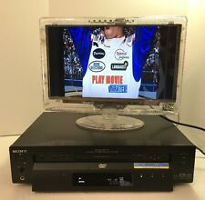 SONY DVP-S7700 REFERENCE AUDIOPHILE CD DVD PLAYER DIGITAL OUT - NO REMOTE