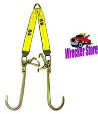 G70 WRECKER TOW TRUCK V STRAP, V BRIDLE, J, Mini J and T HOOK, ROLLBACK, CARRIER