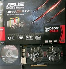 ASUS Scheda Video Grafica RADEON R7 260X GDDR5 GAMING 2 HDMI 1GB AMD OC Edition