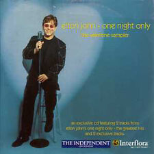 CD Single Elton JOHN One Night Only The Valentine Sampler