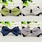 Chic Unisex Bow Tie Adjustable Tuxedo Bowtie Wedding Party Necktie Multi-Colors