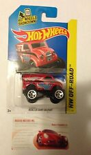 HOT WHEELS 1:64TH MONSTER DAIRY DELIVERY RED 122/250 NEW IN PACKAGE