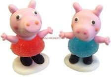 PEPPA PIG GEORGE PIG ICING JELLY SWEET BIRTHDAY CAKE CUPCAKE TOPPER DECORATIONS
