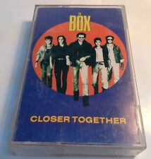 THE BOX Tape Cassette CLOSER TOGETHER 1987 Alert records Canada BD4-1005