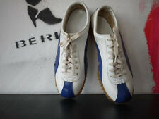 True vintage zapatillas deporte 70er Sport Shoes cortos 38 UK 5 rareza 80er