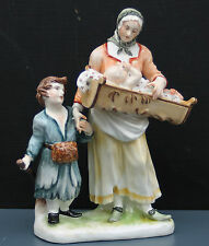 """Nymphenburg Figur """" Bettlerin mit Kindern """" , Topzustand , sammelwürdig !!!"""