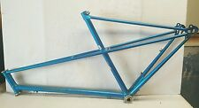 Vintage 80s Style Blue Motobecane Bike Bicycle Light Weight Frame Made in France