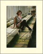EMMA WILLIS THE VOICE HEART FM PP 8x10 MOUNTED SIGNED AUTOGRAPH PHOTO