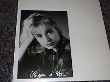 Maryam D'Abo signed 5x7 photo, Bond Girl The Living Daylights