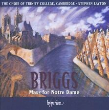 DAVID BRIGGS: MASS FOR NOTRE DAME: Trinity College Choir, Cambridge (Import CD)!