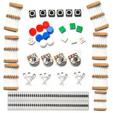 Good Electronic Parts Pack KIT for ARDUINO component Resistors Switch Button