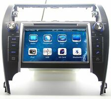 """8"""" In Dash 2 DIN Car Stereo Radio CD DVD Player GPS Navigation For Toyota Camry"""