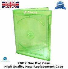 100 Microsoft XBOX One DVD Video Game Case LOGO High Quality Replacement Case