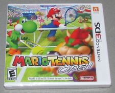 Mario Tennis Open for Nintendo 3DS Brand New! Factory Sealed!