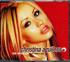 CHRISTINA AGUILERA COME ON OVER BABY (ALL I WANT IS YOU) 3 TRACK AUST CD -  VGC
