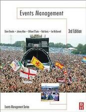 Events Management 3rd Ed Paperback Bowdin, Allen, O'Toole, Harris, McDonnell