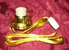 #1 ELECTRIC BURNER ADAPTER for old antique oil kerosene lamp no. 1