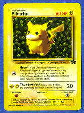 PIKACHU - Black Star  Promo Card (Pokemon) aub