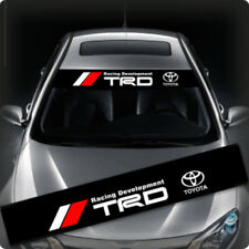 TRD Windows / Windshield Car Sticker Decal FD0009 135x22CM