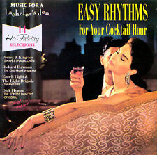 SEALED  Music for a Bachelor's Den Vol. 4: Easy Rhythms... FREE SHIP