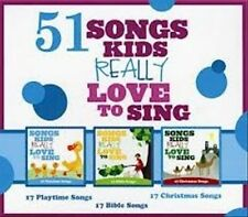 51 Songs Kids Really Love To Sing [3 CD] 2011 by Kids Choir
