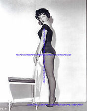 ACTRESS KATHLEEN CASE LEGGY IN LEOTARD AND NYLONS FEET PHOTO A-KCASE
